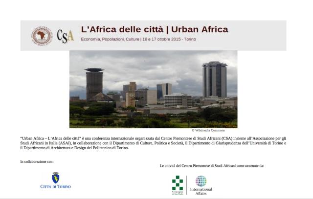 urban africa torino